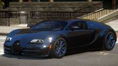 Bugatti Veyron 16.4 GT Black Edition para GTA 4