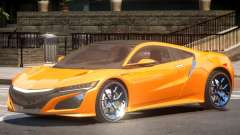 Acura NSX Sport para GTA 4
