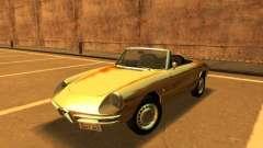 Alfa Romeo Spider Duetto 160 1966