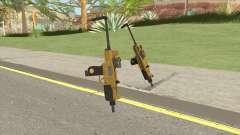 Micro SMG (Luxury Finish) GTA V Scope V3 para GTA San Andreas