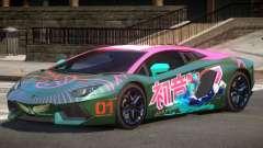 Lamborghini Aventador RS PJ1 para GTA 4