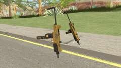 Micro SMG (Luxury Finish) GTA V Scope V4 para GTA San Andreas