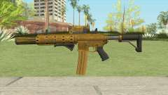 Carbine Rifle GTA V (Luxury Finish) Full V2 para GTA San Andreas
