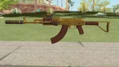 Assault Rifle GTA V (Three Attachments V12) para GTA San Andreas