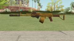 Assault Rifle GTA V (Three Attachments V4) para GTA San Andreas