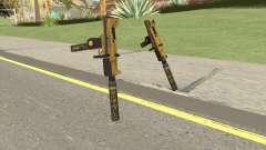 Micro SMG (Luxury Finish) GTA V Suppressor V2 para GTA San Andreas
