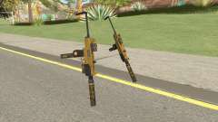 Micro SMG (Luxury Finish) GTA V Full Upgrade V2 para GTA San Andreas