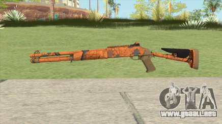 XM1014 Hunter Blaze Orange (CS:GO) para GTA San Andreas