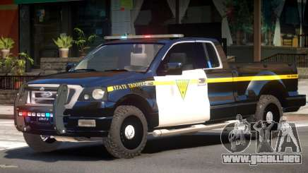 Ford F150 State Police para GTA 4