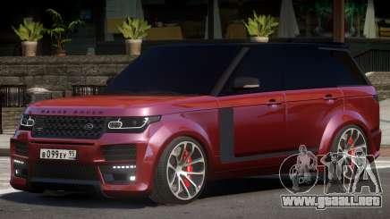 Range Rover Vogue Elite para GTA 4