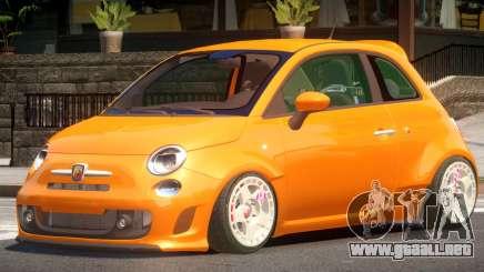 Fiat 500ST para GTA 4