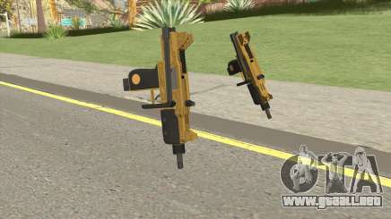 Micro SMG (Luxury Finish) GTA V Base V1 para GTA San Andreas