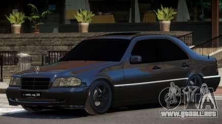 Mercedes Benz W202 C180 para GTA 4