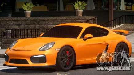 Porsche Cayman GT4 V1.3 para GTA 4