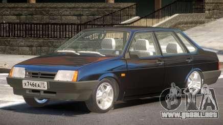 VAZ 21099 V1.1 para GTA 4