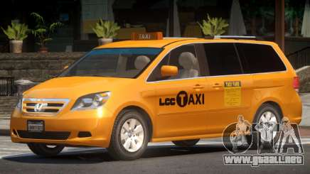 Honda Odyssey Taxi para GTA 4