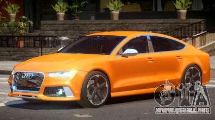 Audi RS7 V1.0 para GTA 4