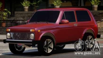 Lada Niva 4x4 V1.0 para GTA 4