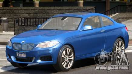 BMW M235i V1.0 para GTA 4