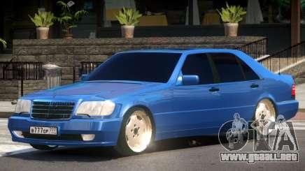 Mercedes Benz S600 V1.1 para GTA 4