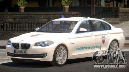 BMW M5 F10 Government para GTA 4