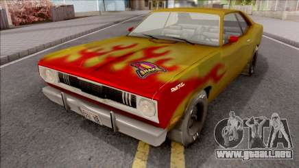 Plymouth Duster 340 Snake Hot Wheels para GTA San Andreas
