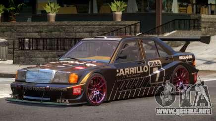 Mercedes 190E Sport PJ5 para GTA 4