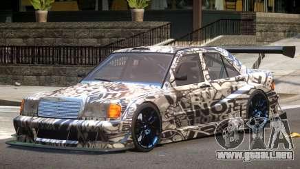 Mercedes 190E Sport PJ1 para GTA 4