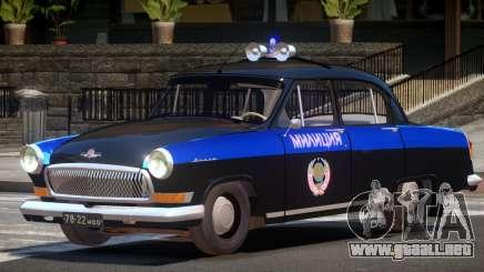 GAZ 21 Police V1.0 para GTA 4