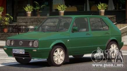 Volkswagen Golf ST V1.0 para GTA 4