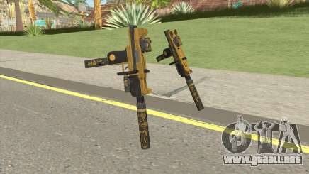 Micro SMG (Luxury Finish) GTA V Full Upgrade V1 para GTA San Andreas