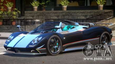 Pagani Zonda GT Roadster para GTA 4