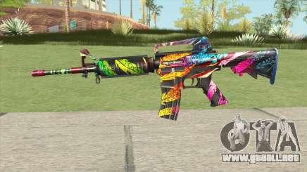 M4A1 (Wild Carnival) para GTA San Andreas
