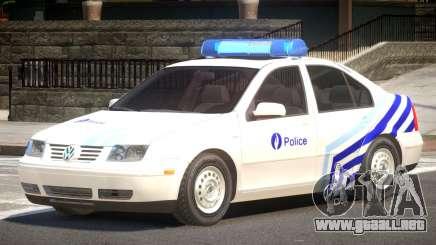 Volkswagen Bora Police V1.1 para GTA 4