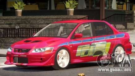 Mitsubishi Lancer Evolution 7 V1.0 para GTA 4