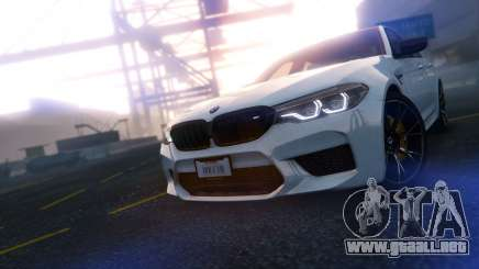 BMW M5 F90 2019 Competition V3.0 para GTA 5