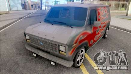 Ford Econoline E-150 Hot Wheels para GTA San Andreas