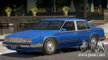 1986 Buick Skylark Sedan para GTA 4