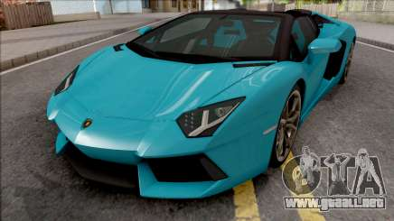 Lamborghini Aventador LP700-4 Roadster 2013 HQ para GTA San Andreas