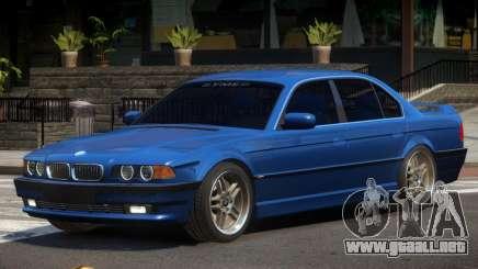 BMW 750i V1.0 para GTA 4