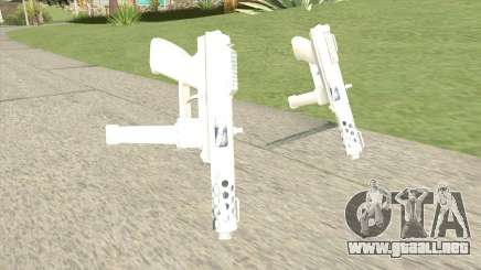 Tec-9 (White) para GTA San Andreas