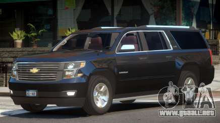 Chevrolet Suburban Elite para GTA 4