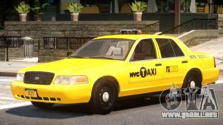Ford Crown Victoria Taxi V1.1 para GTA 4