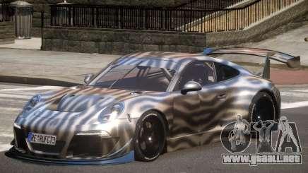 Porsche 911 GT-3 V1.0 PJ4 para GTA 4