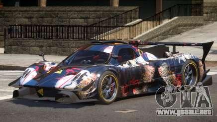 Pagani Zonda GT-R PJ3 para GTA 4