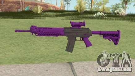 SG-553 Purple (CS:GO) para GTA San Andreas