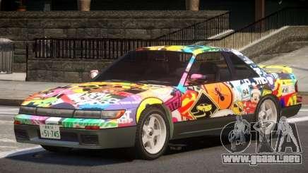 Nissan Silvia S13 ST PJ3 para GTA 4