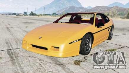Pontiac Fiero GT 1985 para GTA 5