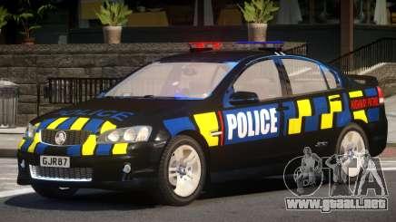 Holden VE Commodore Police V1.0 para GTA 4