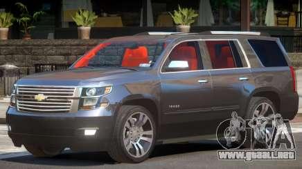 Chevrolet Tahoe BC para GTA 4